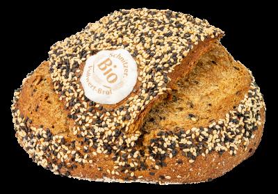 Bio Dinkel-Joghurt-Brot mit schwarzem Sesam